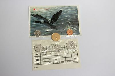 Canadian 1992 Uncirculated Coin envelope set