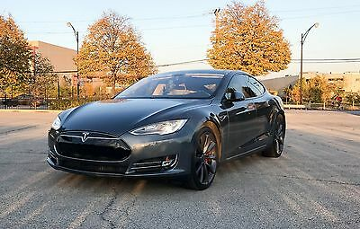 2013 Tesla Model S P85 Performance 2013 Tesla Model S P85 Performance Package Low Miles