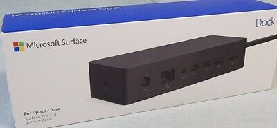 Microsoft Surface Dock for Book, Surface Pro 4 & Pro 3 Docking Station New Seal