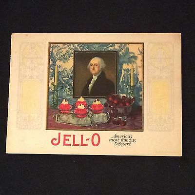 Vintage Jell-O Recipe Booklet - America's Most Famous Dessert - 1926
