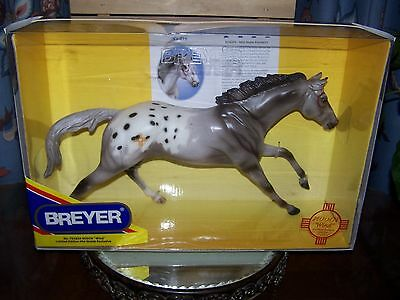 BREYER RARE NODIN NATIVE MARKINGS on the CIGAR MOLD  ~NEW IN BOX~