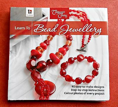 LEARN  TO  BEAD  JEWELLERY  - Hinkler Softcover Book  with 90 Designs - 2011