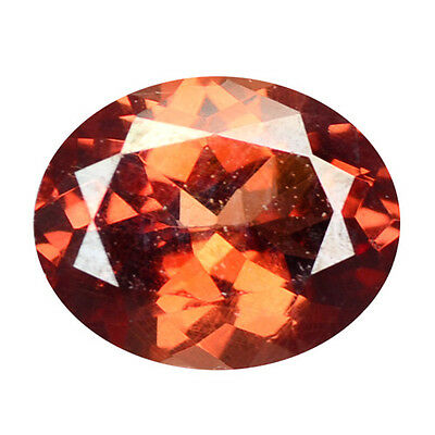 1.02 ct HUGE UNIQUE RARE NATURAL FROM EARTH MINED PINKISH RED MALAYA GARNET