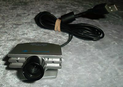 Sony Playstation 2 Eye Toy Silver Camera Ps2 Usb