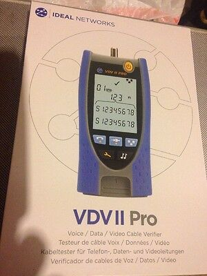 IDEAL Networks R158003 VDV II Pro MM Cable Tester
