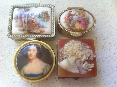 Collectable pill boxes