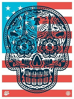 """Shepard Fairey """"obey Giant"""" Power And Glory ´ Merica"""