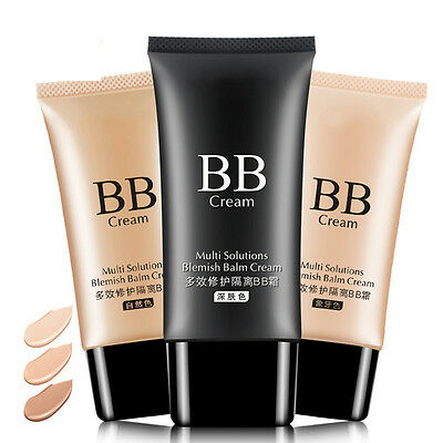 Nude Makeup Blemish BB Cream Moisturizing Liquid Foundation Concealer Isolation