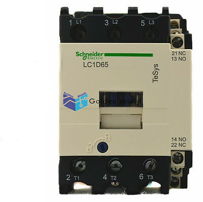 Schneider LC1D65Q7C AC Contactor Industry PLC Industrial New