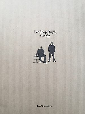 Pet Shop Boys Literally issue 39
