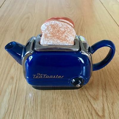 SWINESIDE TEAPOTTERY  - THE TEA TOASTER TEAPOT - SIGNED - lovely condition