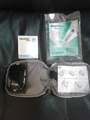 Gluco Men Areo Brand New & 10 Test Strips ***FREE RECORDED DELIVERY***