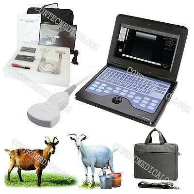 VET Veterinary portable Ultrasound Scanner Machine For Sheep/Goat/Pig,+Convex