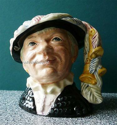 D6843 Royal Doulton character jug Pearly Queen