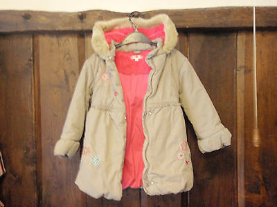 Girsl M&S Padded Coat Age 6 - 7 years