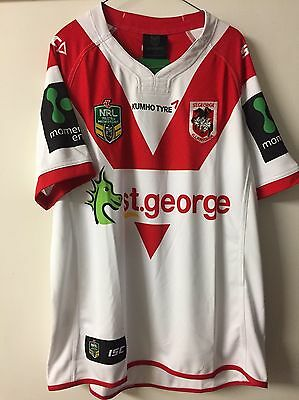 Brand New 2016 Authentic NRL Dragons Jersey Size XL