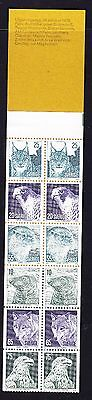 Sweden 1973 - Save the Animals  Booklet Complete - Mint - SB 288s