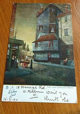 1904 Tucks ( In Dickens's Land ) Postcard THE OLD CURIOSITY SHOP