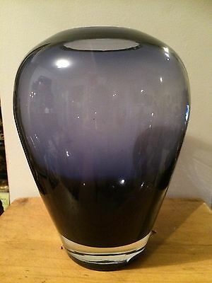 Purple Glass Vase Krosno ??