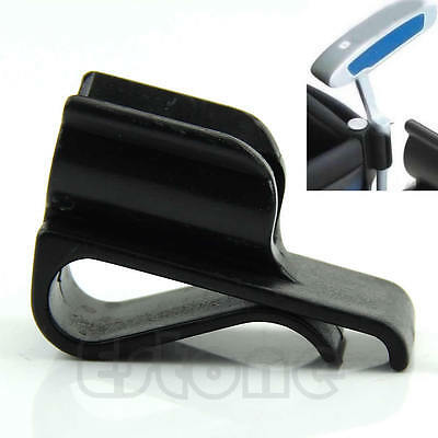Golf Club Durable Bag Clip On Putter Putting Organizer Ball Marker Clamp Holder
