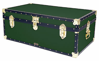 British Mossman Made Boarding School Steamer Cabin Storage Trunk - Luggage Case
