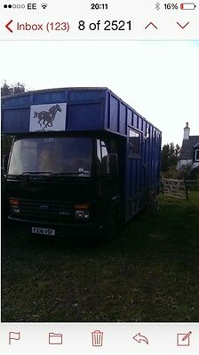7.5 Ton Horse Lorry Ford Iveco 0811 F Reg.