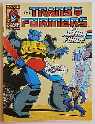 TRANSFORMERS COMIC #174 - 16th July 1988 - Marvel UK, Action Force