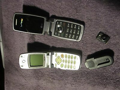 LG VX10  LG VX5400 pair of cell phones used