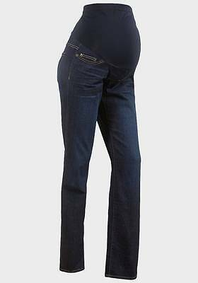 BNWT OTB Bootcut Maternity Jeans Regular Size 6 - 22 Dark Denim