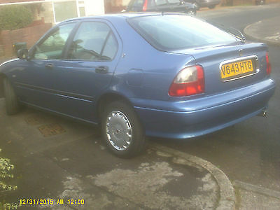 rover 414 sei one owner 65000 mls mint condition