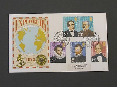 First Day Cover – Explorers 1973