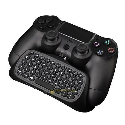 Mini USB 2.4G Wireless Chatpad Message Typing Keyboard for Sony PS4 Controller