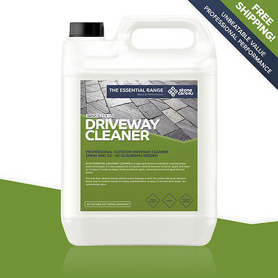 Stonecare4u Essential Driveway Cleaner 5L - Powerful non-acid cleaning formula