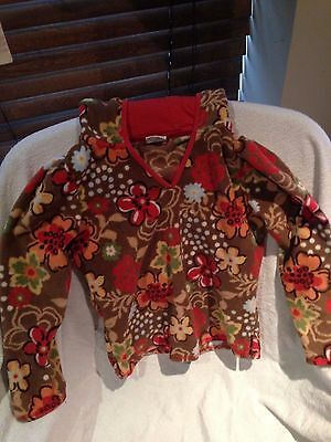 Girls Floral Fleece Next Hoodie Age 7