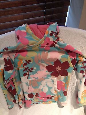 Girls Floral Fleece Next Hoodie Age 5