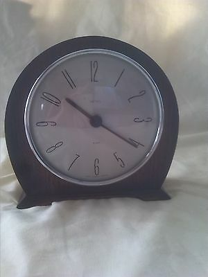 Antique Smiths 8 Day Mantle Clock