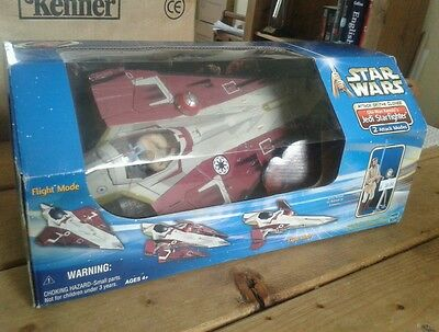 Star Wars Obi-Wan Kenobi's Jedi Starfighter  Boxed New Sealed