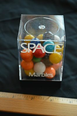 Geo Space Magnetic Marbles: Solid Colored: Set of 26