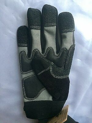 West County Gloves LANDSCAPE Sz Small or Large Kevlar Reinforced Grip Tips/Palm