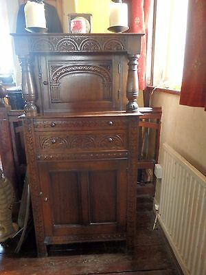 Beautiful Carved Fronted Butlers Cabinet