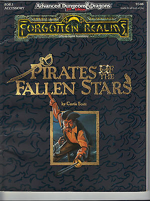 Forgotten Realms PIRATES of the FALLEN STARS Price Includes delivery in the UK