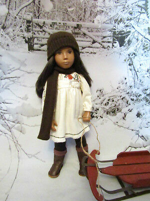 'Winter down on the farm' outfit + Boots for Vintage Sasha Dolls by *4*angels*