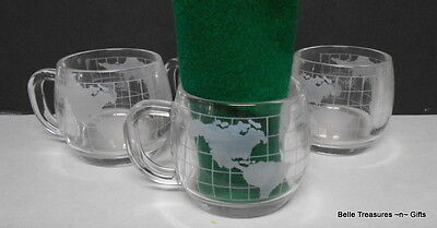 The Nestle Company Inc. Nescafe World Globe Mugs Cups