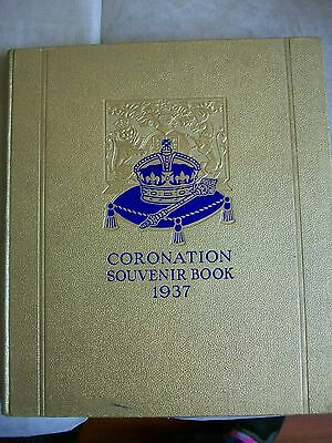 Coronation Souvenir Book 1937, the story of two Royal Brothers, v good condition