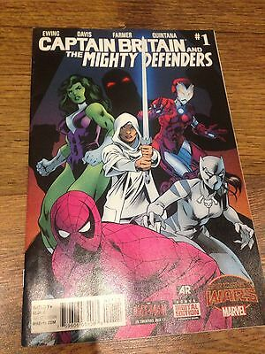 Captain Britain And The Mighty defenders #1 Secret Wars