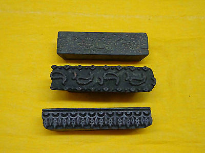 Indian Hand Carved Wooden printing blocks wood printing stamps wood printinggift