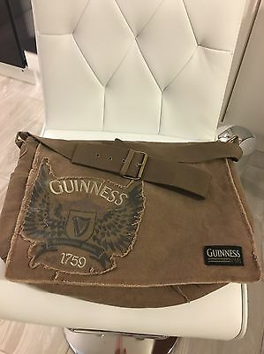 Guinness Canvas Messenger Bag New Without Tags