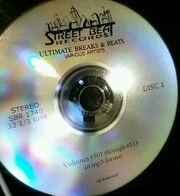 Ultimate Breaks and Beats The Complete Collection in MP3 Format on 2 CDs