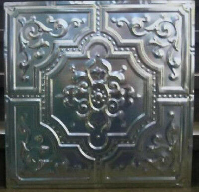 "New Original Antique Design #3 Metal Ceiling Panel 24"" X 24"" 30 Ga.steel $14."