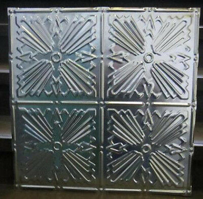 Original Antique Design #1 Metal Ceiling Panel 24 In X 24 In 30 Ga. Nr $14.